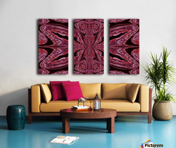 Butterfly of Red  Split Canvas print