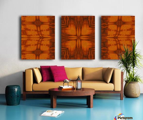 Sunshine Butterfly 2 Split Canvas print
