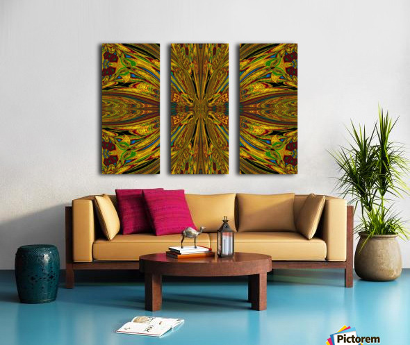 The Goddess PSYKHE 1 Split Canvas print