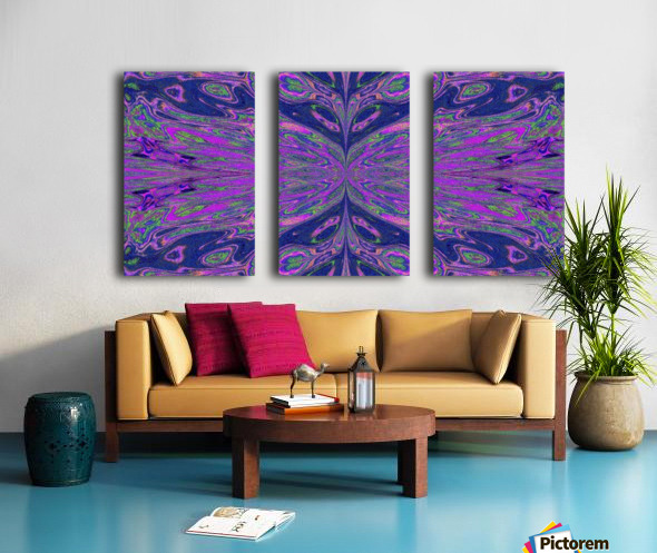 Queen of the Butterflies 4 Split Canvas print