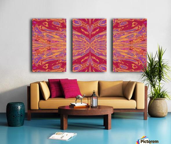 Queen of the Butterflies 8 Split Canvas print