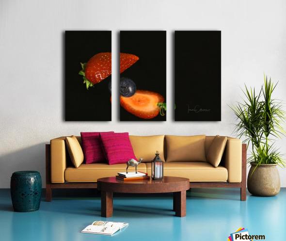 Strawberry Split Canvas print