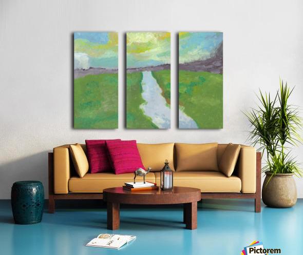 The River Split Canvas print