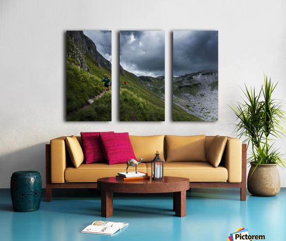Mountain people  Split Canvas print