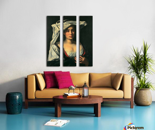 The royal lady Split Canvas print