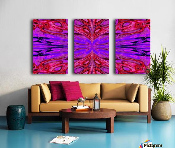 Queen of the Butterflies 38 Split Canvas print