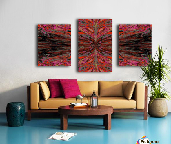Queen of the Butterflies 55 Canvas print