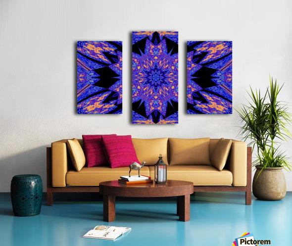 Sapphire of The Desert Canvas print
