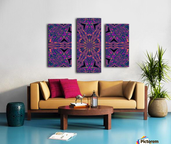 Psychedelic Jasmine 3 Canvas print