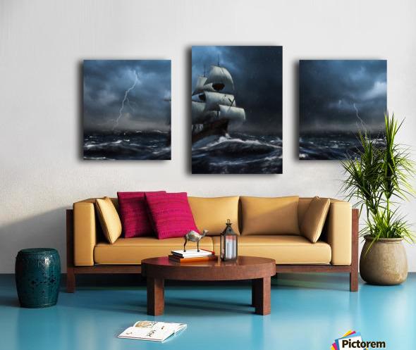 Stormy Seas by Jordan Blackstone Canvas print