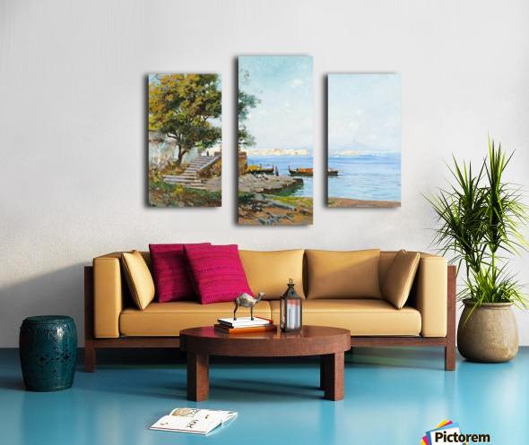 La baie de Naples Impression sur toile