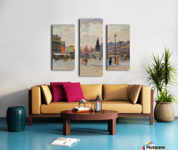 Place of Clichy Impression sur toile