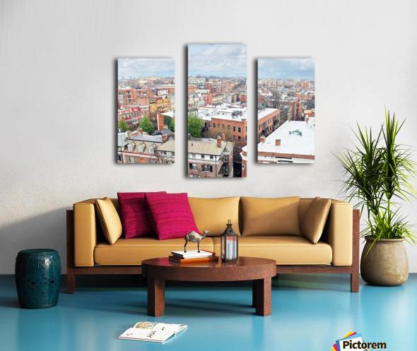 City Roof Tops  Canvas print
