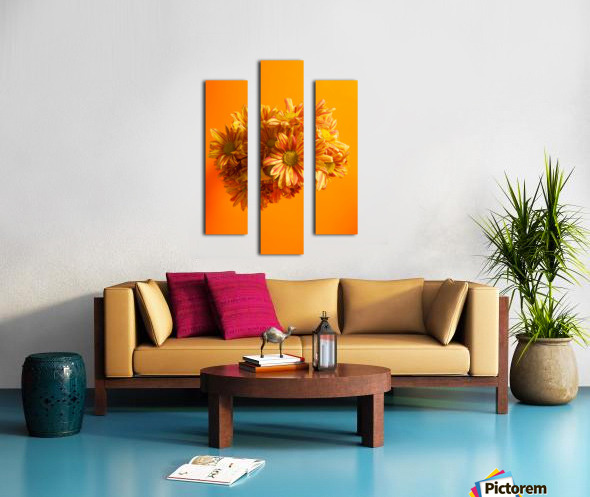 Orange scent Canvas print