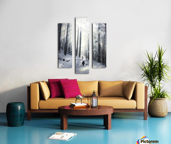 Explore nature Canvas print