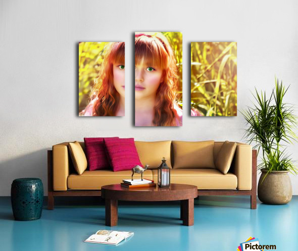 JesusEyes Canvas print