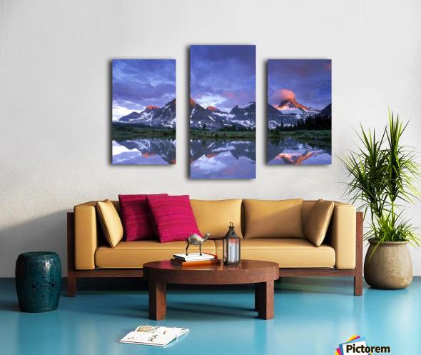 Mt Assiniboine Provincial Park, British Columbia, Canada Canvas print