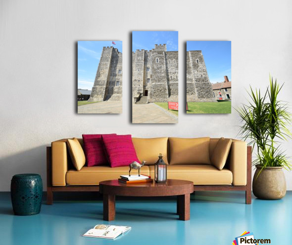 DOVER CASTLE, UK Impression sur toile