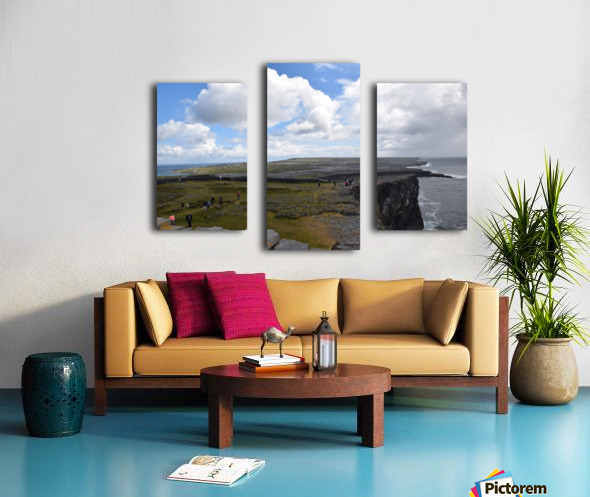 INIS MOR, THE ARAN ISLANDS Canvas print