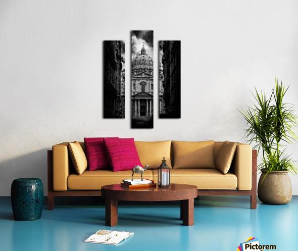 PARIS or ROMA  Canvas print