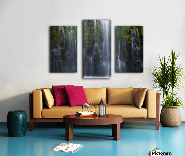 Magical retreat Canvas print