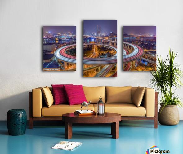 The Nanpu Bridge Canvas print