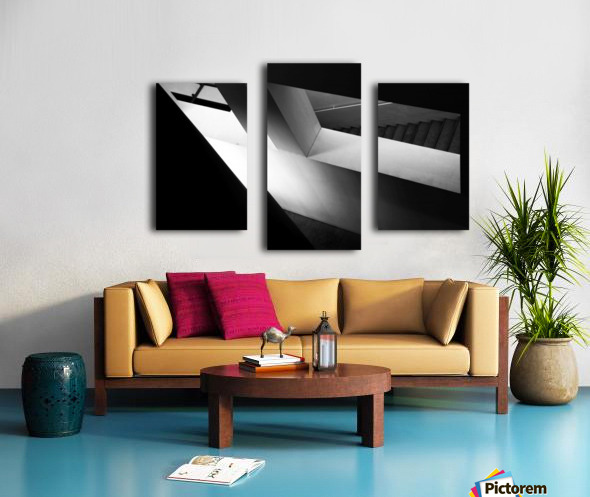 Light and shadow play Canvas print