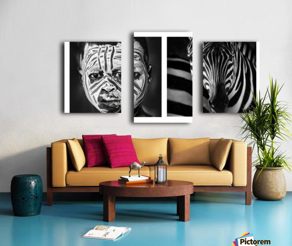 Mimetic Canvas print