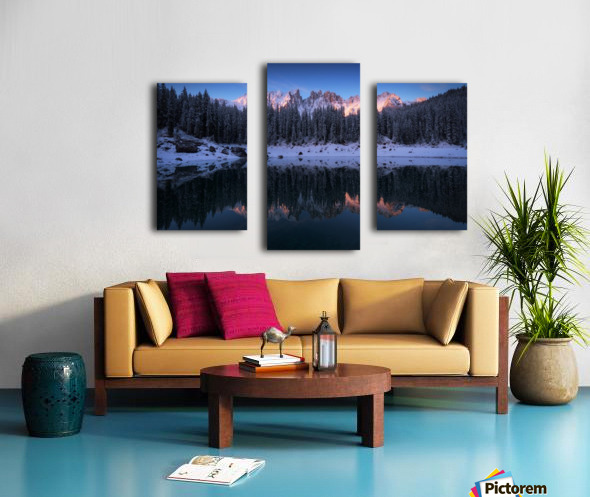 The first morning Canvas print