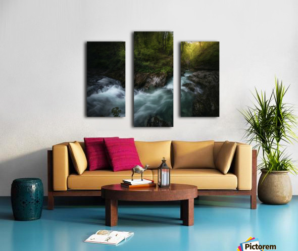 Gorge 1. Canvas print