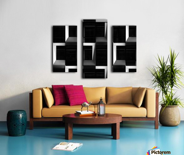 B&W Canvas print
