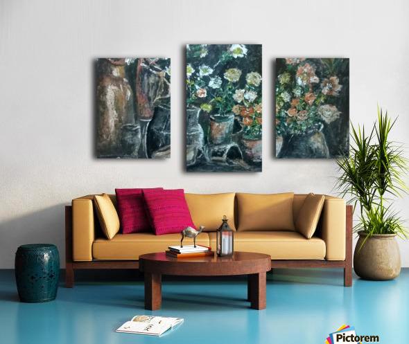 lost corner Impression sur toile