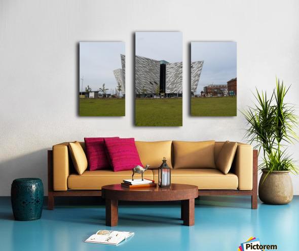 THE TITANIC MUSEUM, BELFAST Canvas print