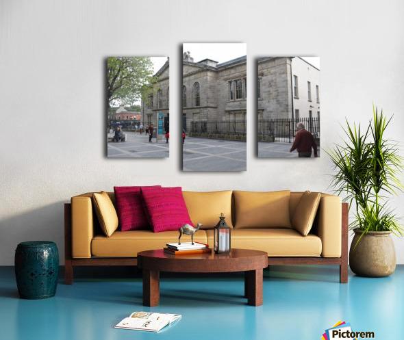 KILMAINHAM JAIL, DUBLIN Canvas print
