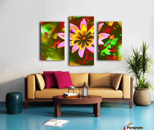 flowerPowerWILD Canvas print