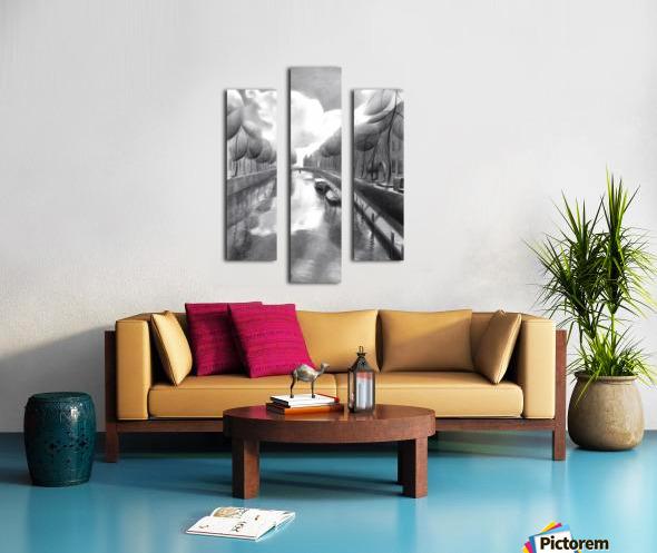 The return of the dutch elephants (@ Gouda) - 12-07-17  Canvas print