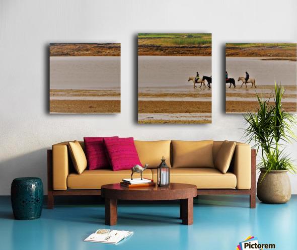 Loch trek Canvas print
