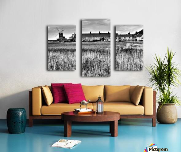 Wind houses Canvas print