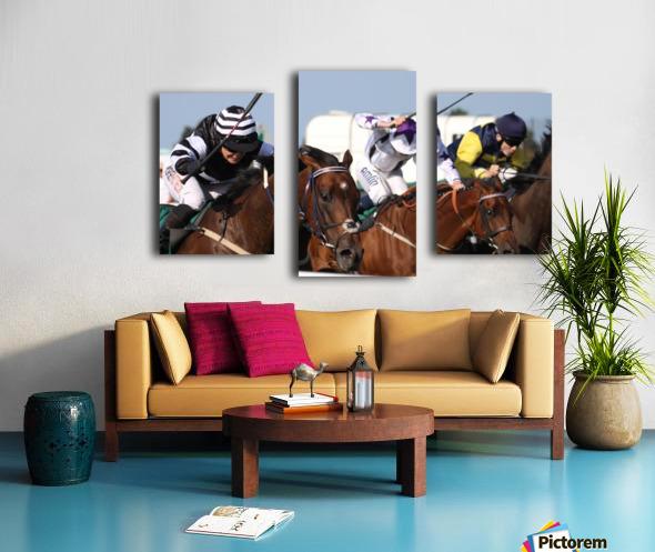Whip race Canvas print