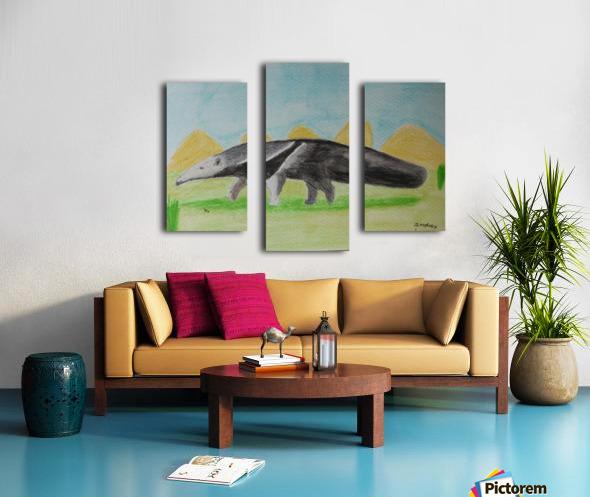 Anteater Canvas print