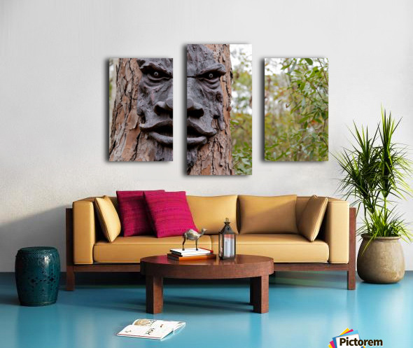 The Animated Forest Canvas print