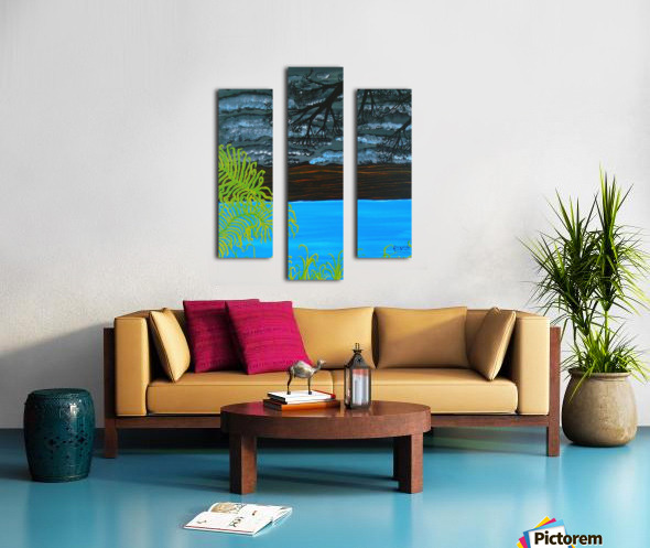 50 x2_50__1 3__tranquility R Canvas print