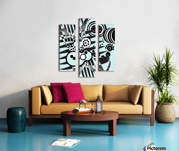Emotions of an Artist Canvas print