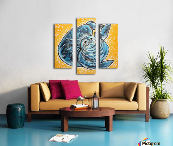 Foca Ori Impression sur toile