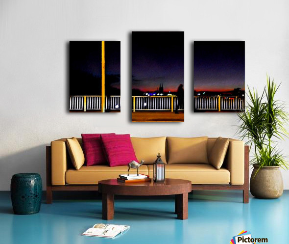 Colognetrip Canvas print