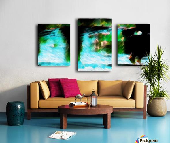 Bergischwasser Canvas print
