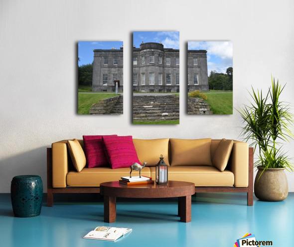 LISSADELL HOUSE & GARDENS Canvas print