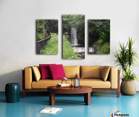 GLENCAR WATERFALL Canvas print
