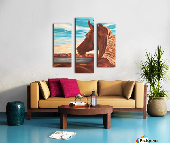 Unclaimed Freedom Canvas print
