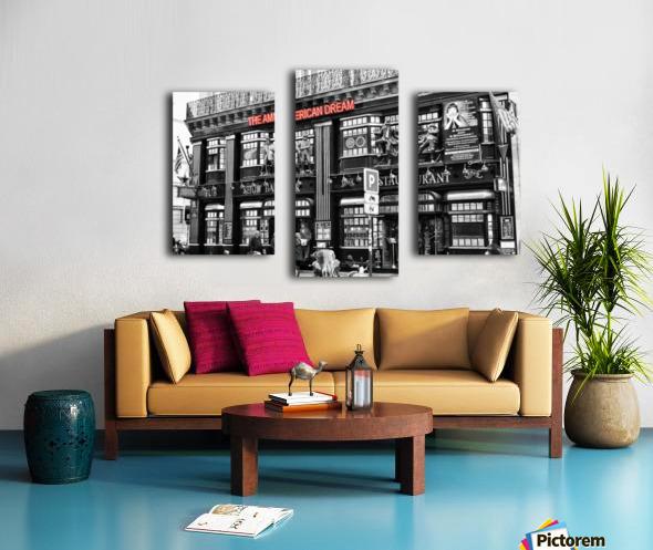 The American Dream Canvas print